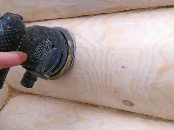 Подготовка деревянного фасада под покраску