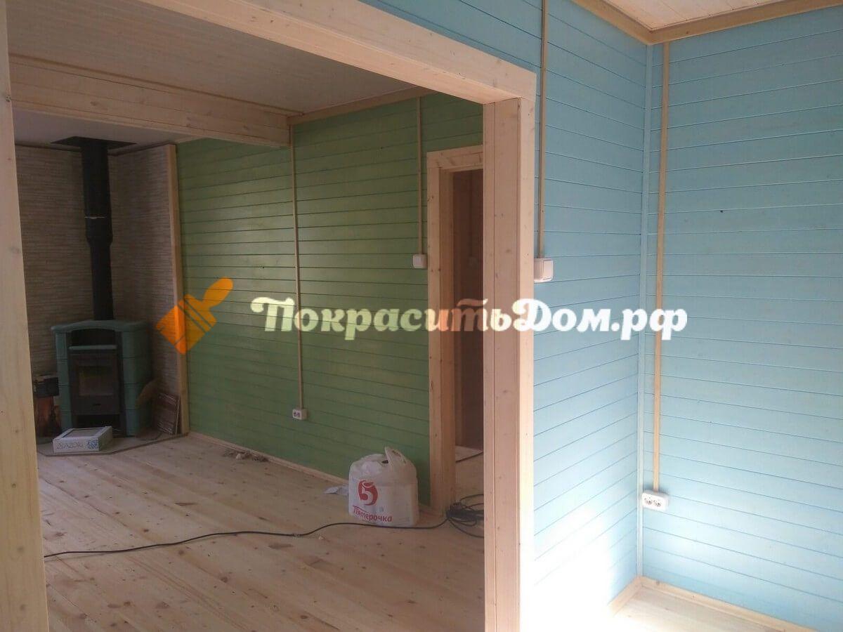 Внутренняя и наружная покраска дома в Чеховском районе