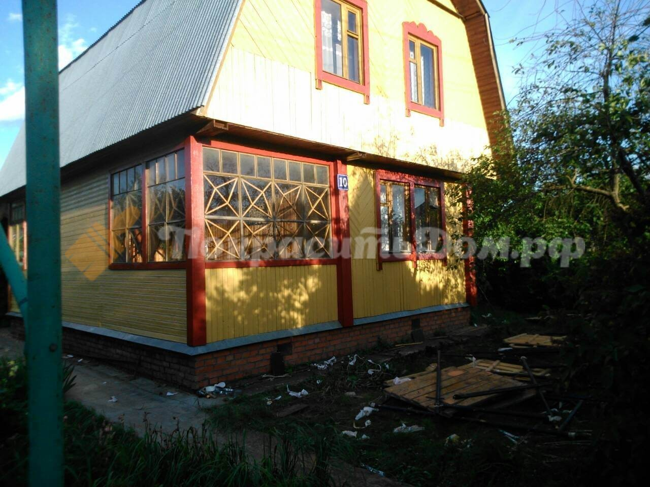 Реставрация старого деревянного дома Лыткарино